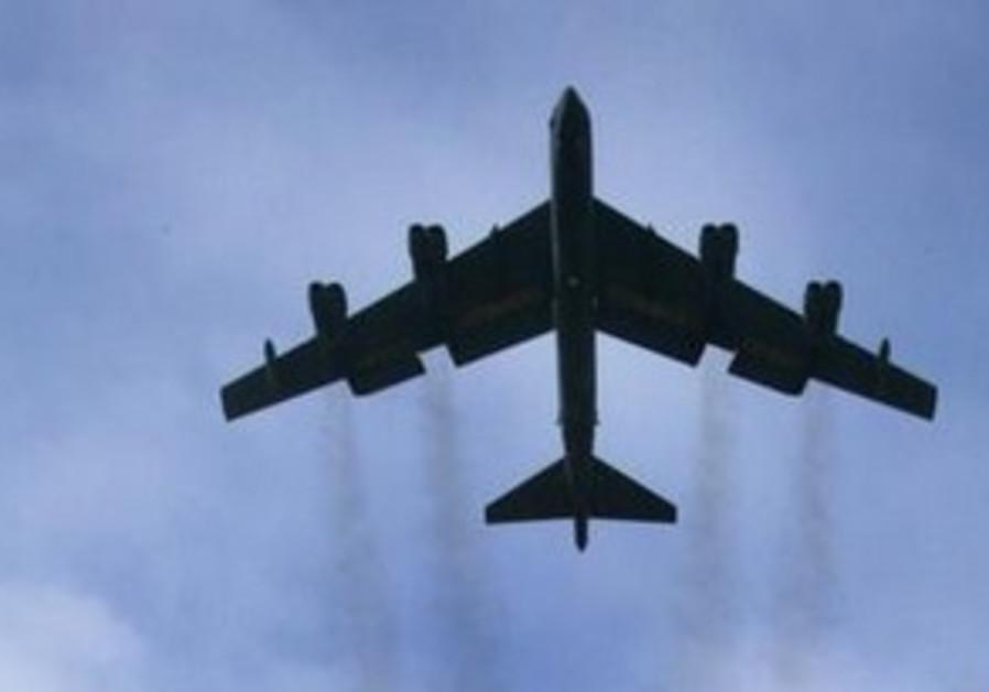 A U.S. B52 bomber
