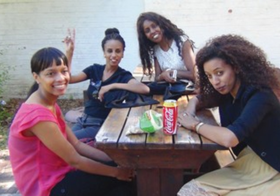 Students from the IDC, Herzliya  in Cape Town during Israel Apartheid Week (IAW).
