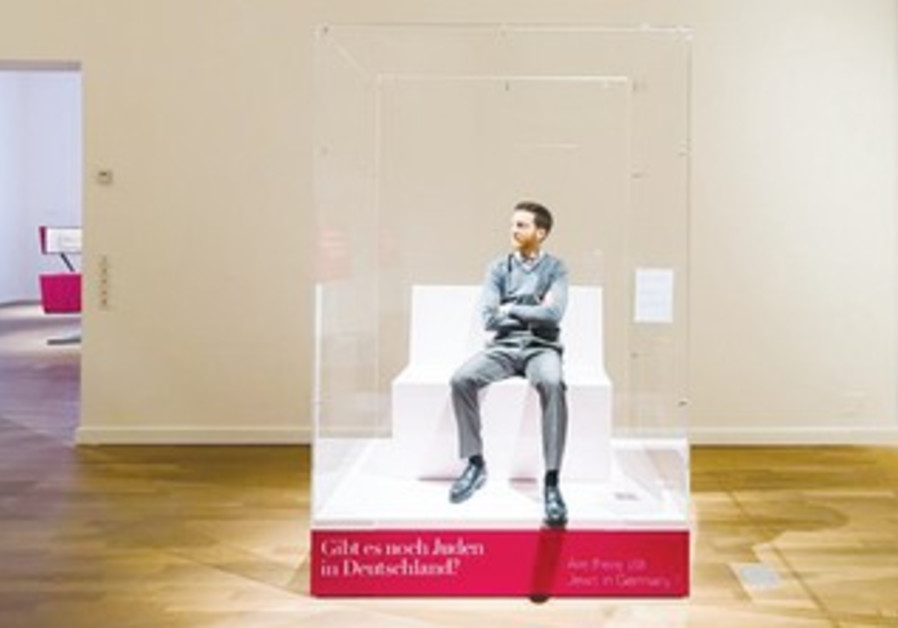 'Jew in a Box' exhibit at Berlin Museum.