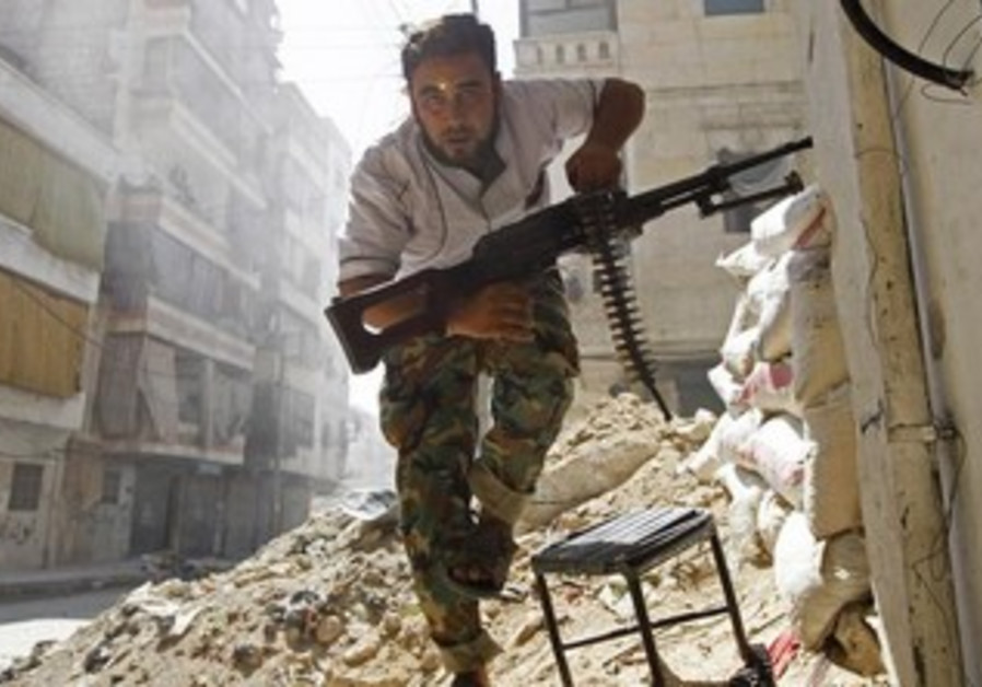 Member of the Free Syrian Army