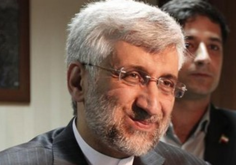 Iran's chief negotiator Saeed Jalili, April 5, 2013