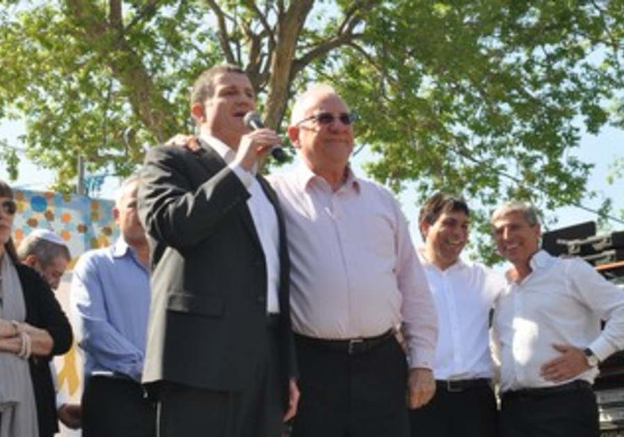 Edelstein and Rivlin at Kiryat Ata mimouna
