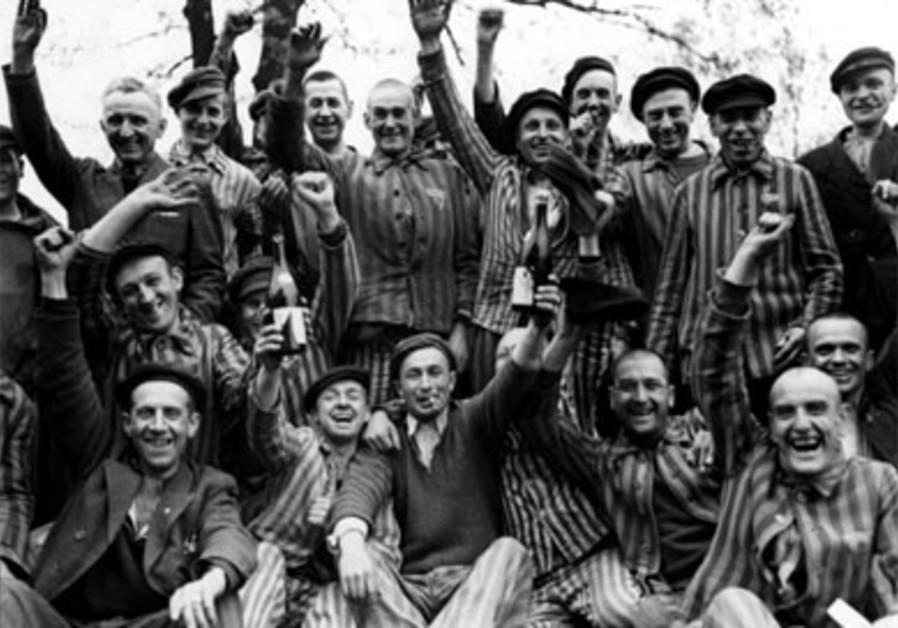 Buchenwald survivor celebrate liberation