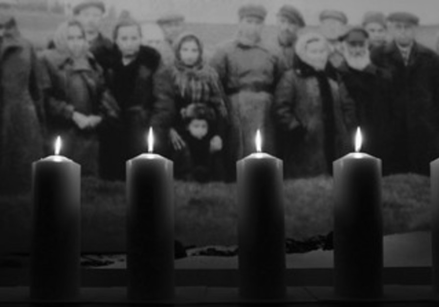 Holocaust candles