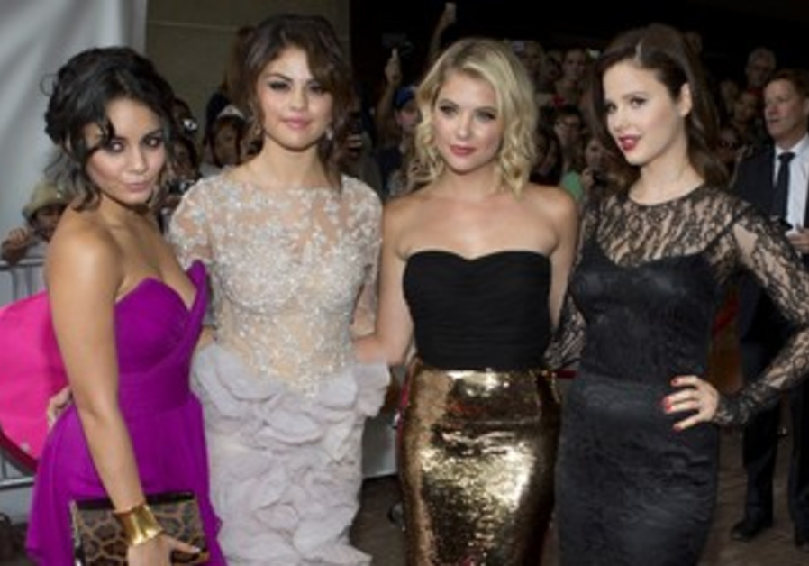 """Red carpet for the gala presentation of the film """"Spring Breakers""""  Toronto."""