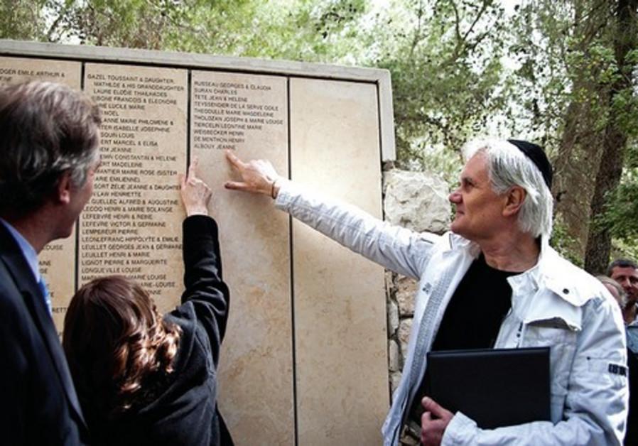 Le nom de Jeanne Albouy est désormais inscrit sur le mur des Justes de France.