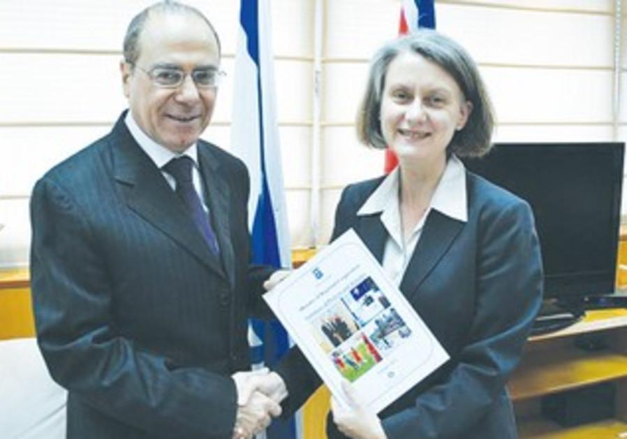 ESilvan Shalom meets Andrea Faulkner