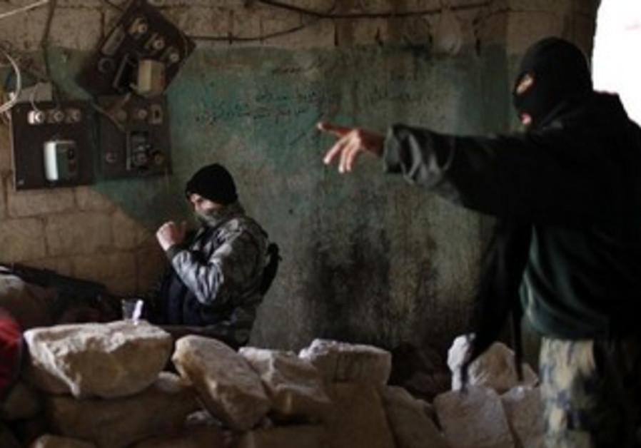 Nusra Front fighters