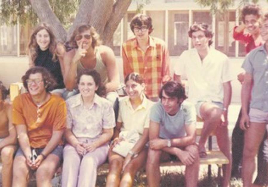The writer at Kibbutz Hulda in 1971.