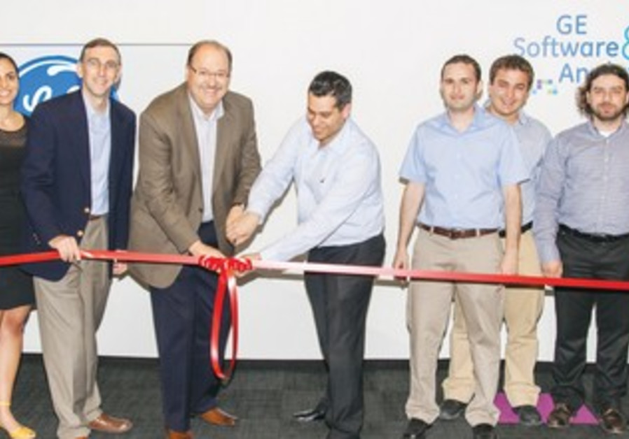 Vice president of GE's software and analytics center, visits the company's Herzliya office.