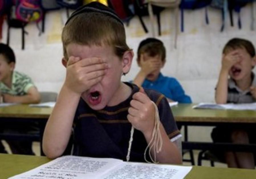 Orthodox schoolchildren [illustrative].