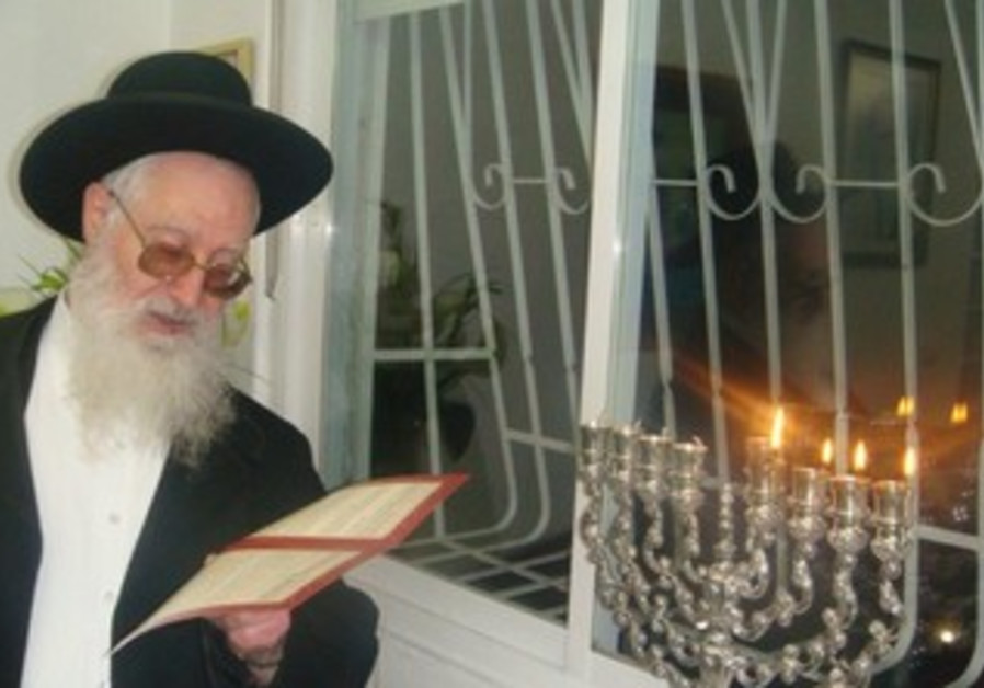 Rabbi Yaakov Yosef, son of Shas spiritual leader Rabbi Ovadia Yosef [file].