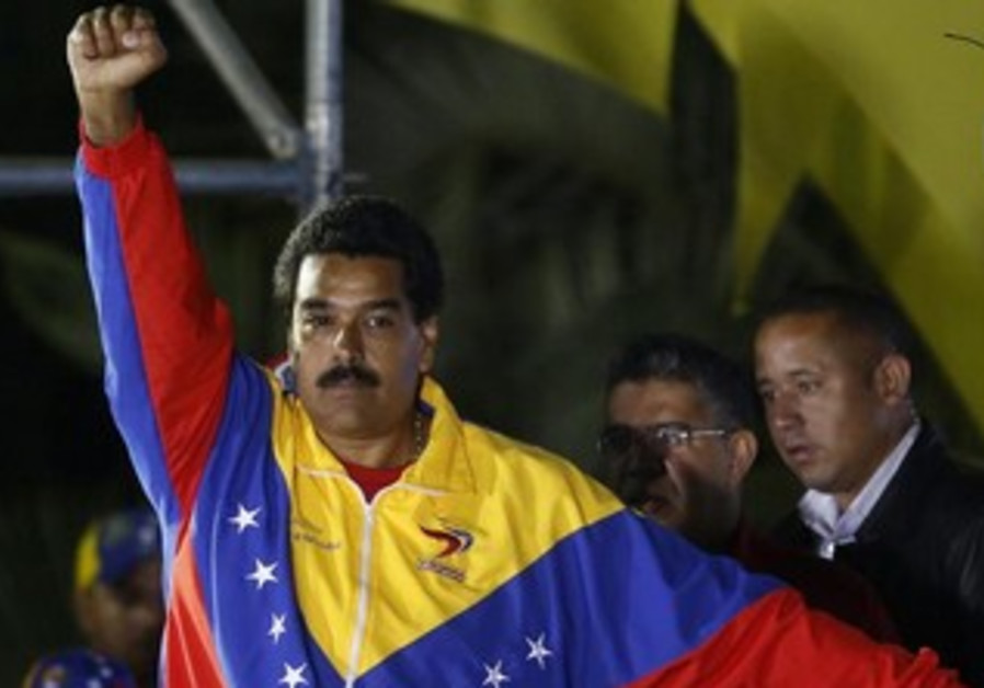 Venezuelan president elect Nicolas Maduro