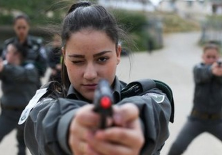 Female border police