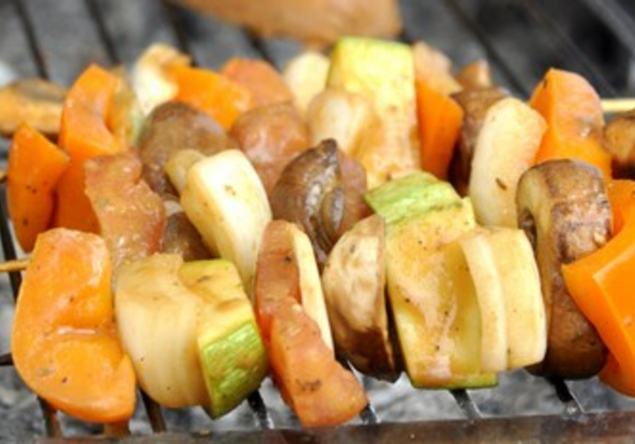A vegan barbeque