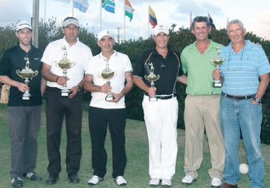Israeli golfers.
