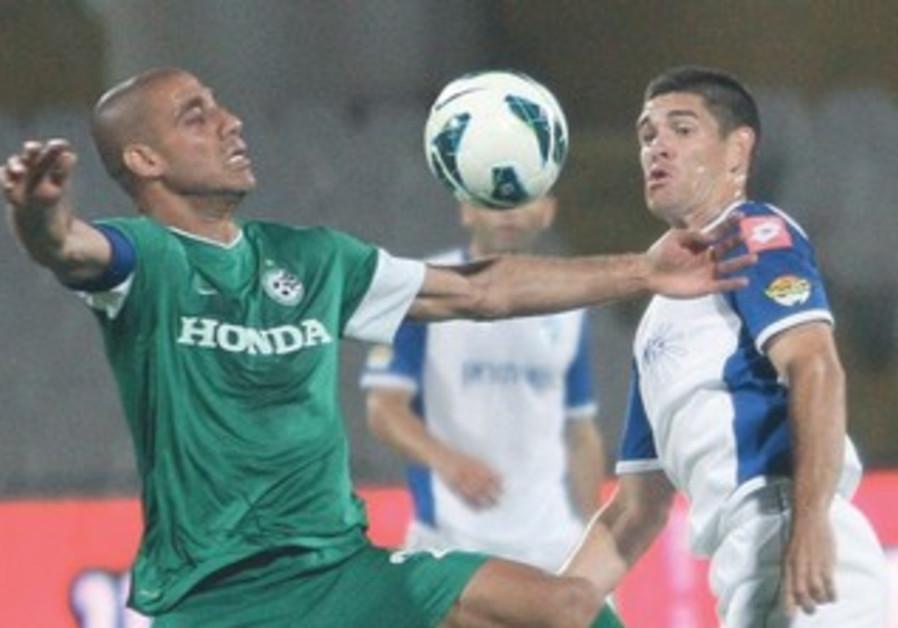 MACCABI HAIFA forward Yaniv Katan