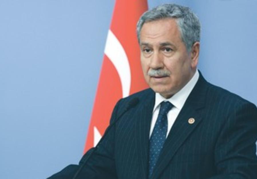 Turkey's Deputy Prime Minister Bulent Arinc.