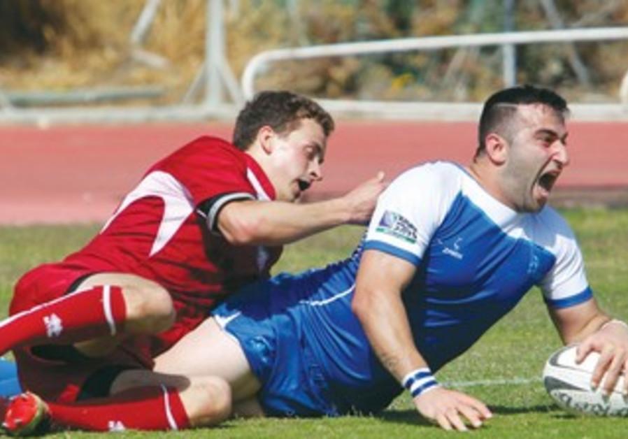 Israeli rugby team