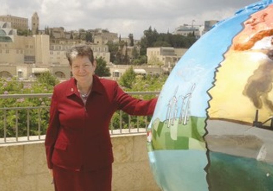 JERUSALEM DEPUTY Mayor and Green Pilgrimage Network ambassador Naomi Tsur