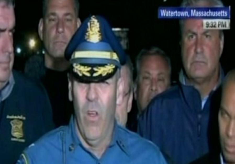 Boston Chief announces arrest