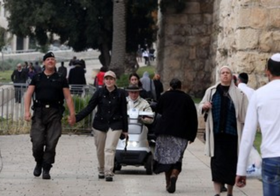 Jorgen completes his 6-month pilgrimage to Jerusalem