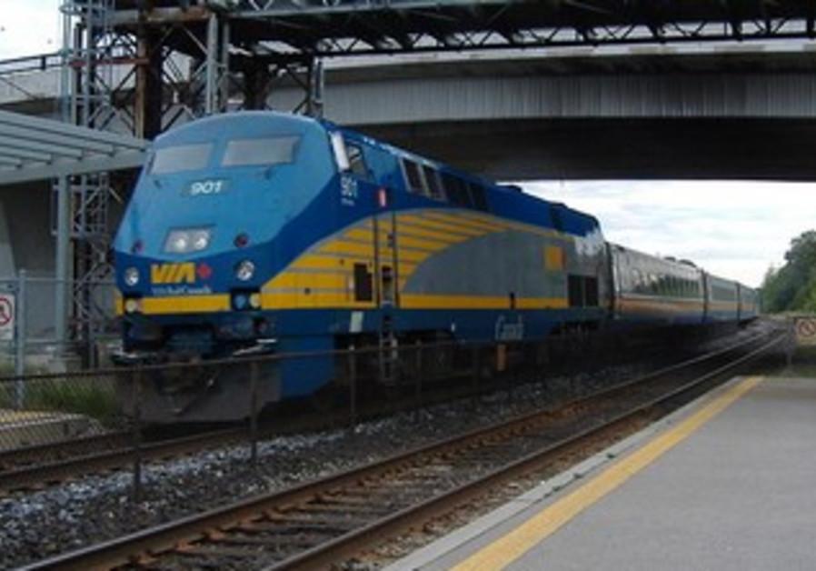 VIA Rail train.
