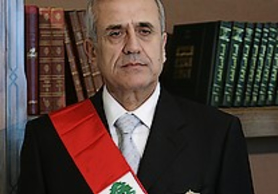 Suleiman takes office on 1st day as president