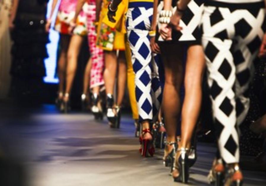 Models on runway [file]