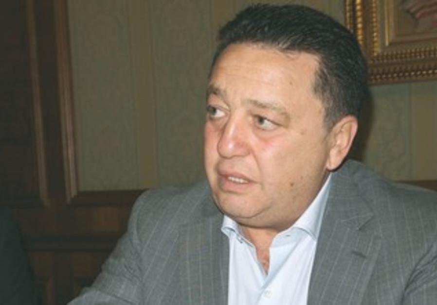 Ukrainian MP Oleksandr Feldman.