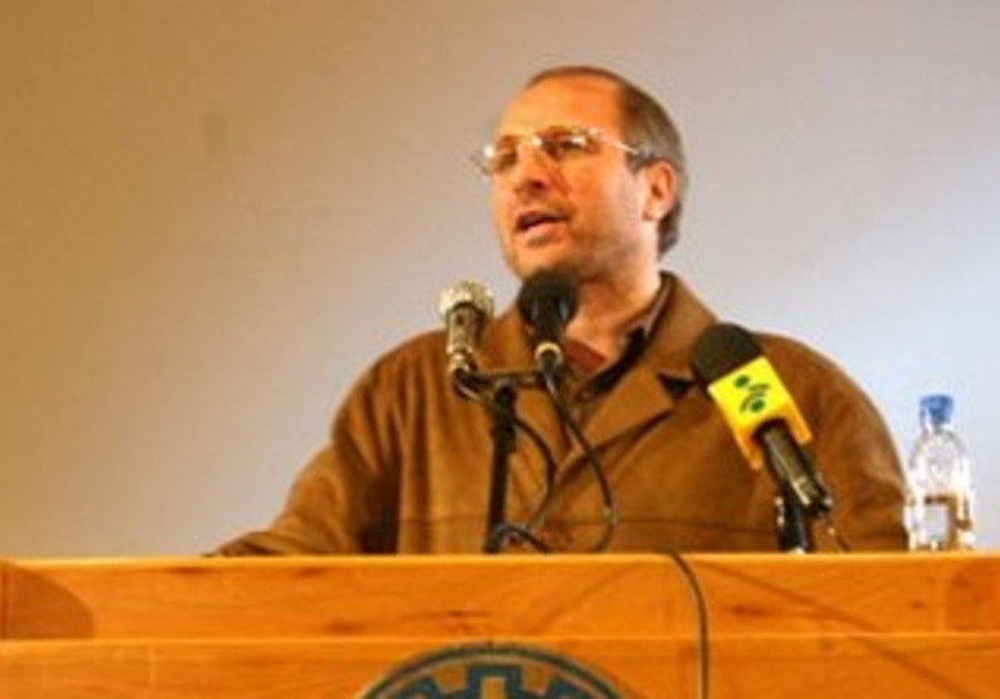 Tehran mayor Mohammad Bagher Ghalibaf.