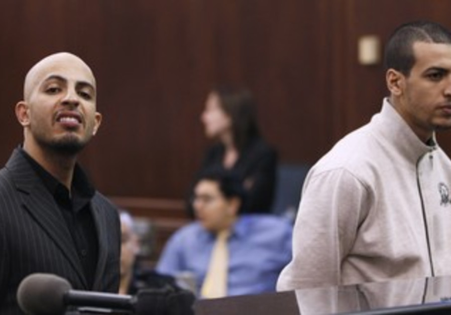 Ahmed Ferhani (L), and Mohammed Mamdouh at court
