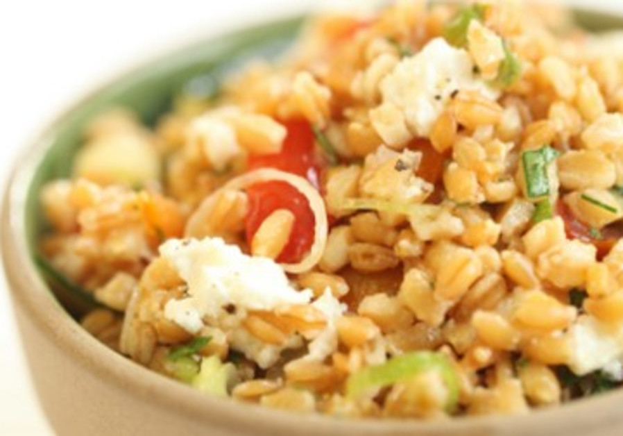 Wheat Berry Salad with Feta