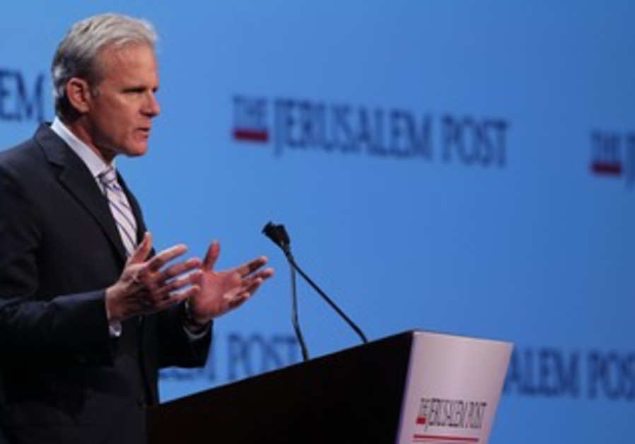 Michael Oren JPost conference April 28 2013