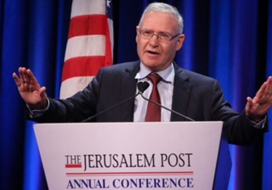 Amos Yadlin JPost conference April 28 2013