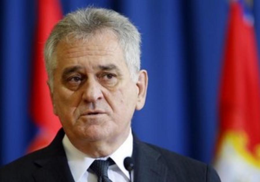 Serbian President Tomislav Nikolic.