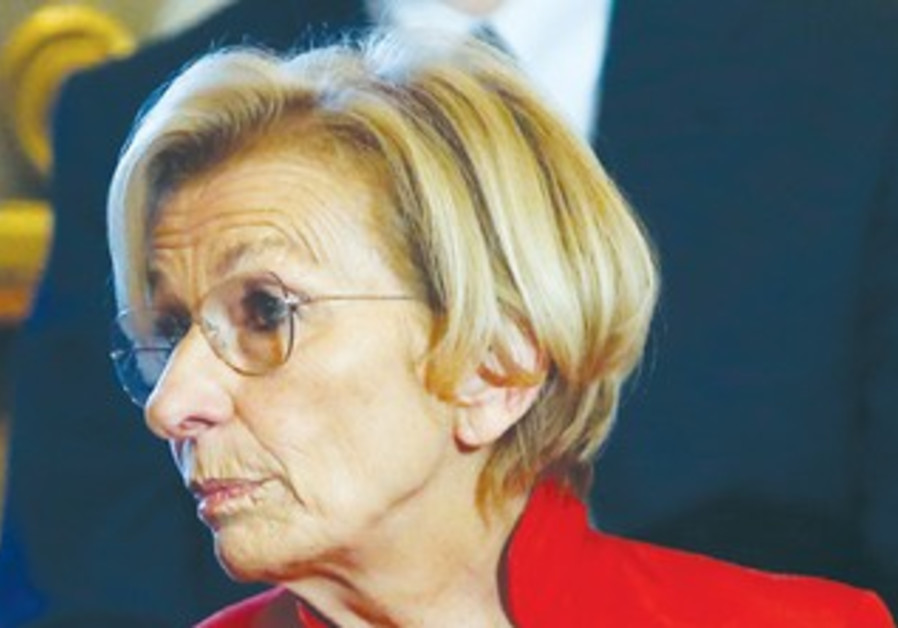 Italian Foreign Minister Emma Bonino