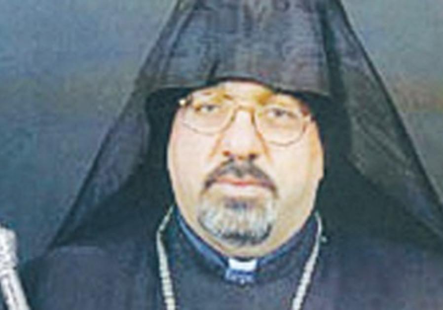 Armenian Patriarch Nourhan Manougian