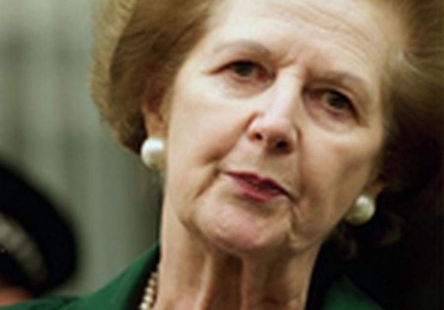 Margaret Thatcher voyait tout naturellement dans les juifs des âmes soeurs.