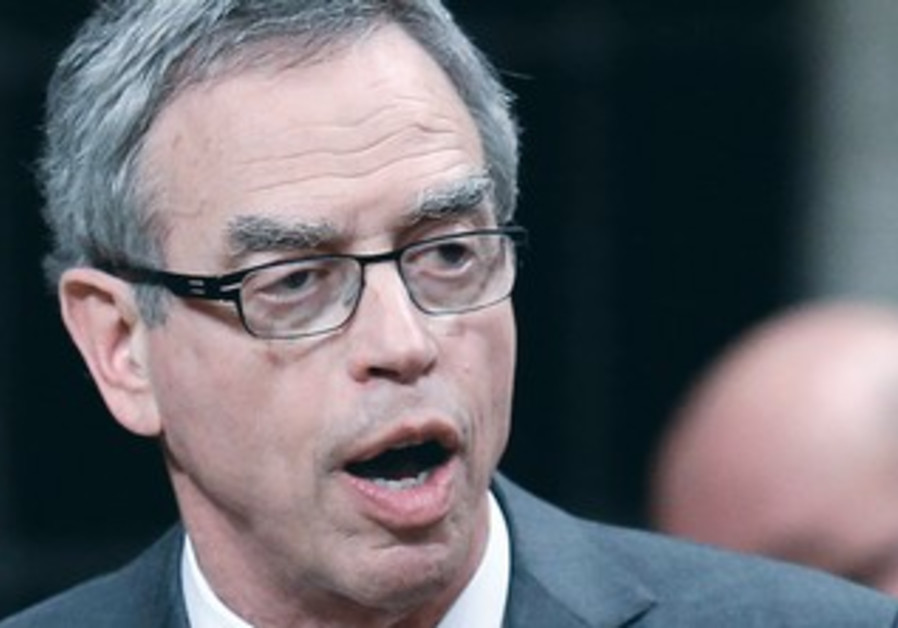 Canadian Natural Resources Minister Joe Oliver