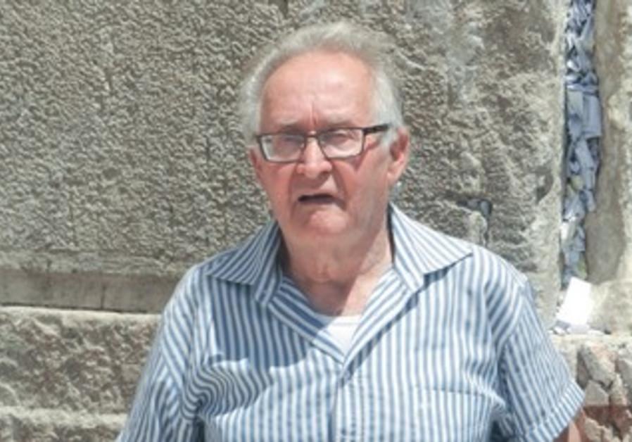 SHAUL GORKA, a Holocaust survivor celbrates bar mitzva at Western Wall