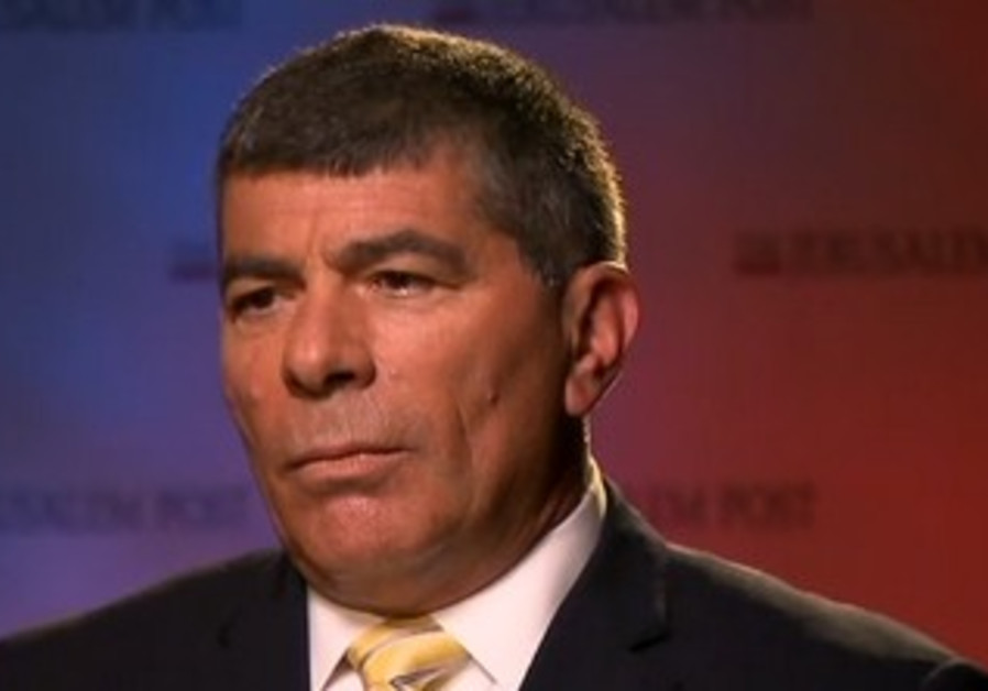 Former IDF chief of staff Lt.- Gen. Gabi Ashkenazi in CNN interview