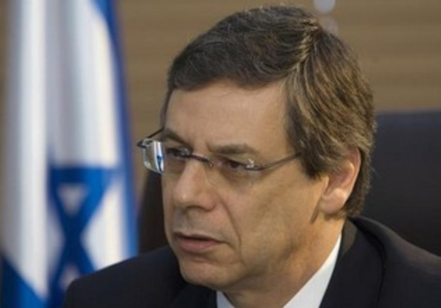 Former deputy foreign minister Danny Ayalon.