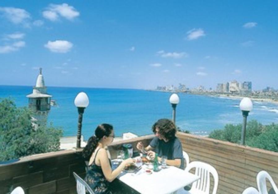 THE SECULAR state in the novel bans all kosher restaurants in Tel Aviv.