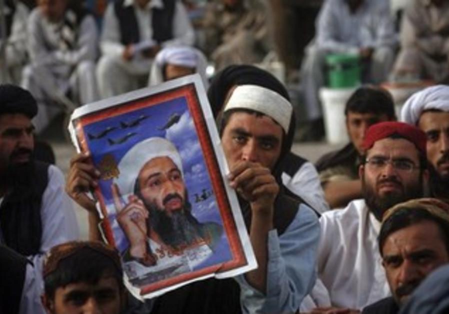 Osama bin Laden supporters in Pakistan