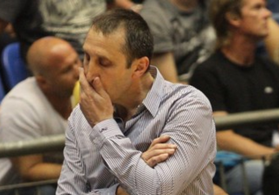 David Blatt, coach of Maccabi Tel Aviv