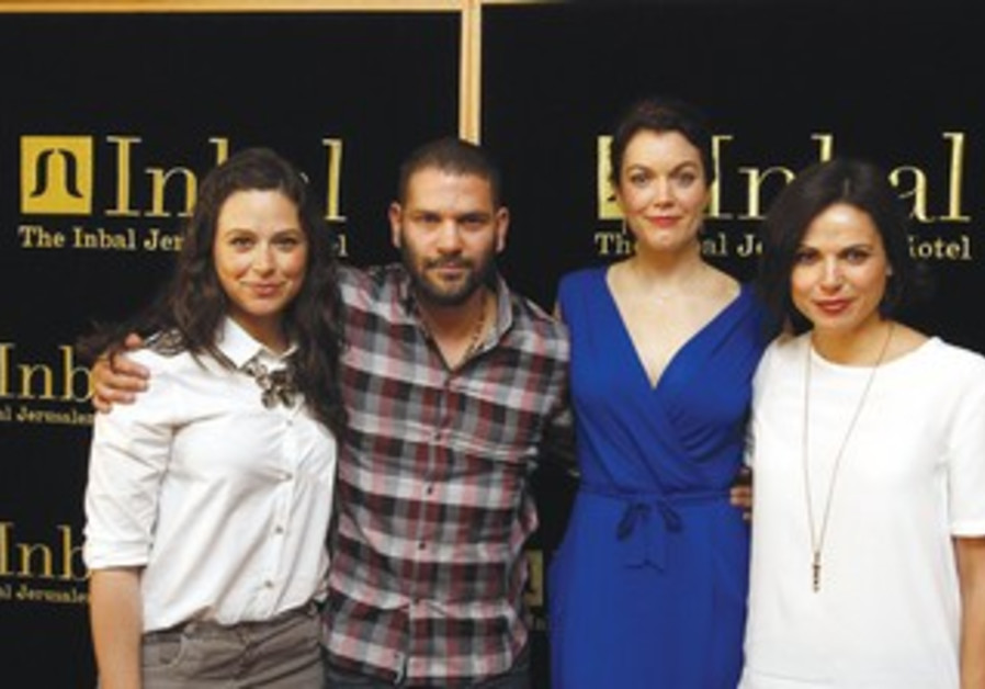 Katie Lowes, Guillermo Diaz, Bellamy Young and Lana Parilla