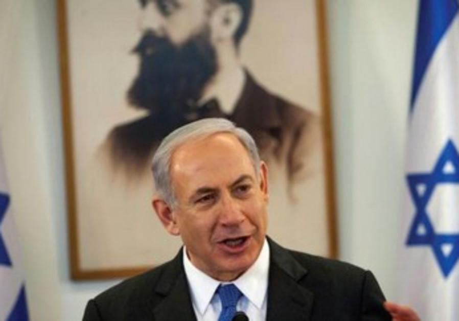 """Binyamin Netanyahou: """"Le conflit a commencé bien avant 1967""""."""