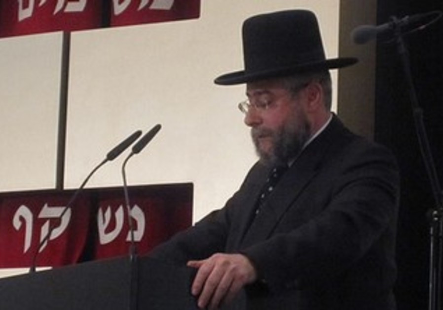 Rabbi Pinchas Goldschmidt [file].