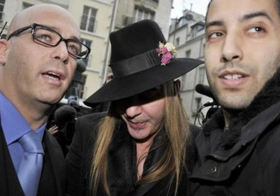 British designer John Galliano
